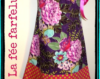 "Dress ""LITTLE DAHLIA"" 2 to 10 years"