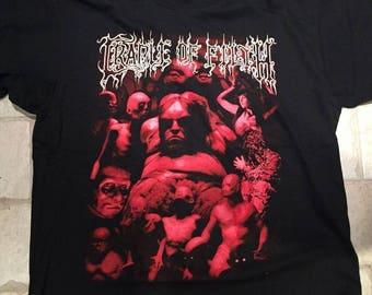 Cradle of Filth vintage 1999 shirt