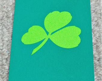 Lucky Irish Shamrock - Boxed Pack of Playing Cards