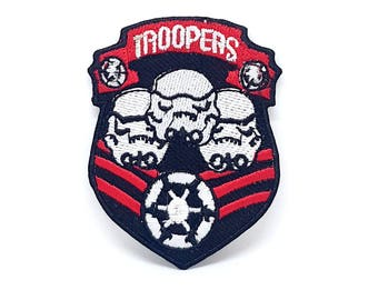 858# STAR WARS Storm Troopers Iron On Embroidered PATCH/logo/badge