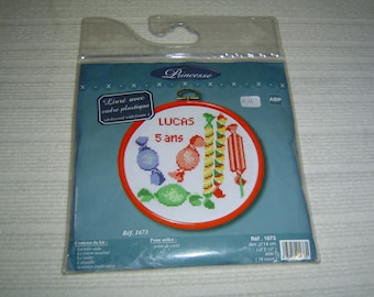 Anniversary cross stitch Embroidery Kit