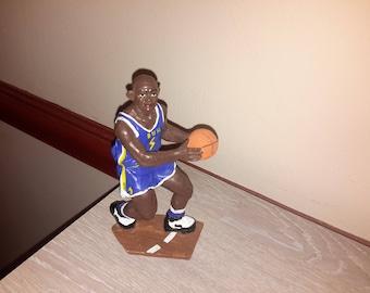 showcase resin basketball player