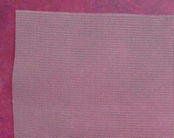 silk gauze 13 x 10 off-white 16 points - for fine embroidery on silk gauze