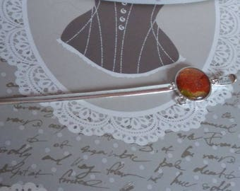 Cabochon hand-painted letter opener