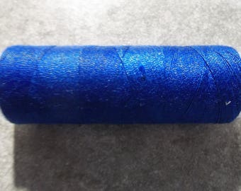Sewing thread spool Royal Blue