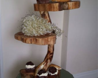 Wooden bespoke Cake Stand