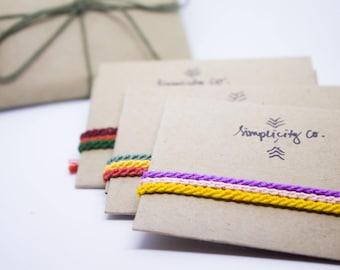 Skinny Friendship bracelet set| Sets of 3| woven| gift| handmade