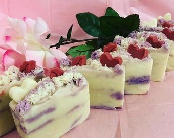 Rose-Geranium Soap / Savon de Rose-Géranium