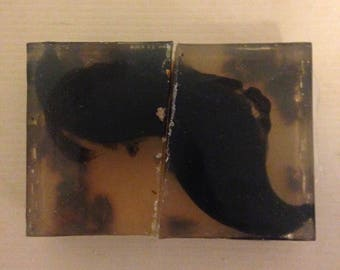 CYPRESS ON MUSTACHE: 2 Set Matching Cypress & Patchouli Soap for Friends / Couples / Etc.