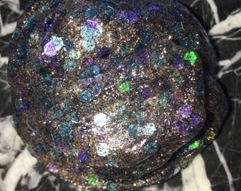 Glitter clear slime! Smaller than an 8oz container