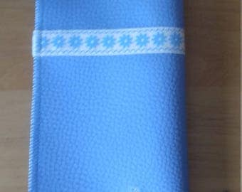 Glasses case in blue