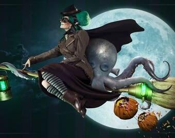 Steampunk Victoria COSPLAY HALLOWEEN SET