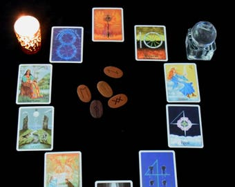Tarot Reading - 10 Card Spread