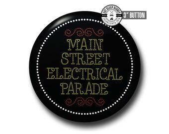 "Main Street Electrical Parade - 3"" Button"