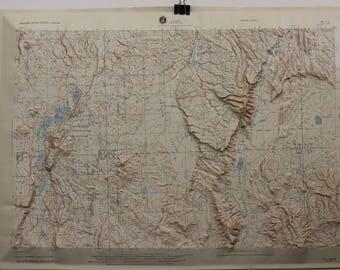 Adel, Hubbard Raised Relief Map