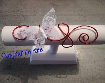 Aluminum wire Butterfly bracelet