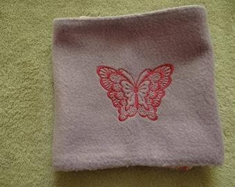 Fleece winter scarf