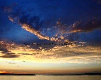 Sunset photography sunset print printable wall art photography sunset wall art digital art print storm photography instant download