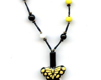 """Butterfly Necklace on the theme of """"protection"""""""