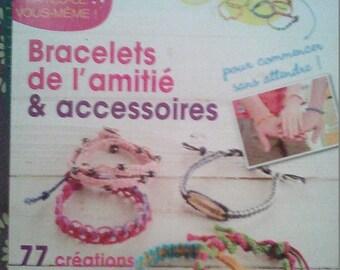 "Book ""bracelet, friendship & accessories"" to make"