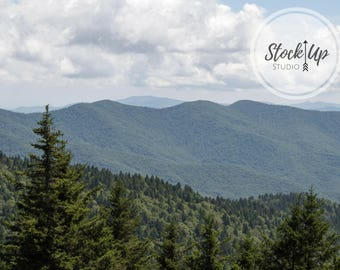 Blue Ridge Parkway, Stock Photo, Landscapes, Great Smoky Mountains, NC