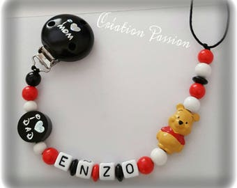personalized pacifier clip