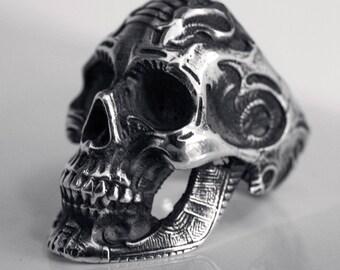 Giger Skull Ring