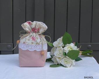 Little lavender of Provence cotton ref car bag
