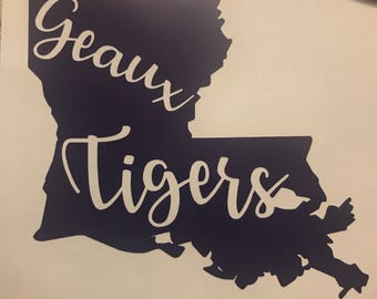 Louisiana decorative decal