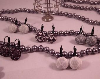 the earrings 'Bibi' Creat'Yon - simple and beautiful.