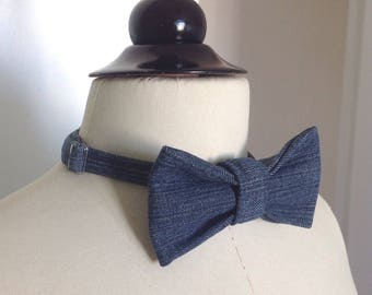 Bow tie trend for men.
