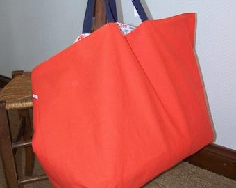 Beach bag or tote bag