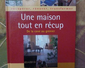 Paperback book titled a home while recycling