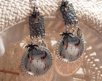 Peppy, western earrings, summer