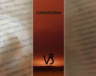 Capricorn Bookmark