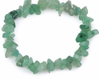 Beautiful seashell aventurine chips bracelet