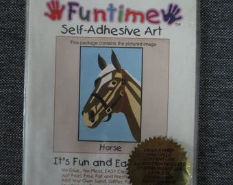 """Painting """"horse"""" sand colored do-it-yourself"""