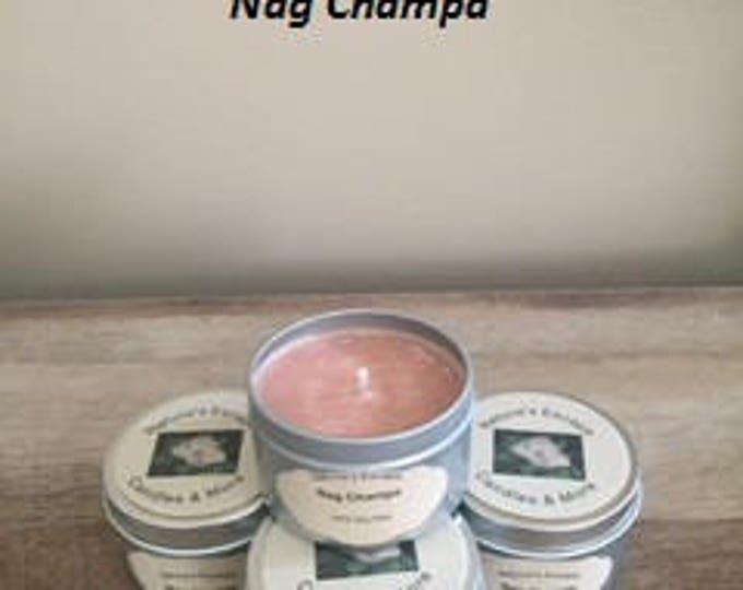 Nag Champa Soy Wax 6 oz. Candle Tins