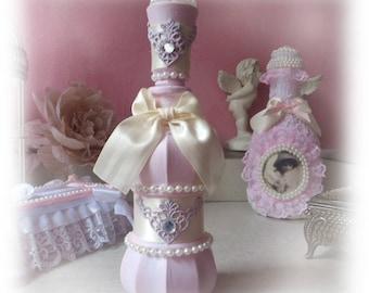 Perfume bottle vintage shabby chic way
