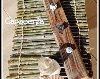 Coat rack / jewelry holder pallet wood