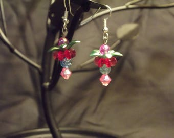 Simple flower earrings