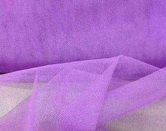 tulle hard purple color
