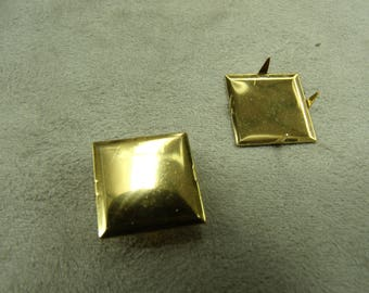 square claw - 1.7 cm - gold