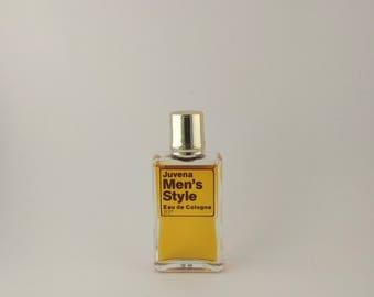 Vintage Mini Perfume Juvena Men's Style 7 ml 0.24 oz Eau de Cologne