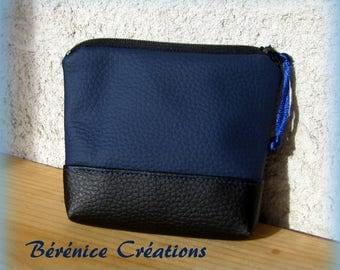 """Wallet """"joyful color"""" Midnight Blue"""