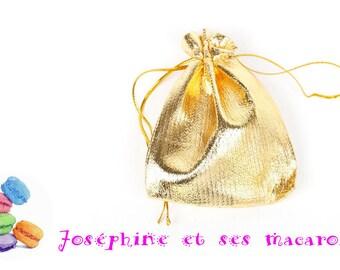1 sachet 7x9cm gold Velvet