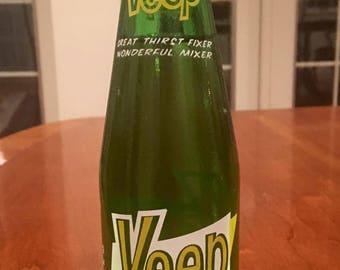 Vintage rare Soda Pop bottle: full bottle Veep Cola - 12 oz bottle