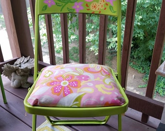 Up-cycled, Antique Folding Chair