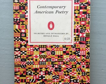 Contemporary American Poetry D67 paperback vintage