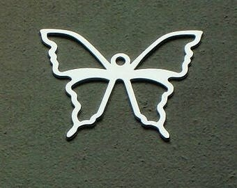 Sterling Silver openwork Butterfly